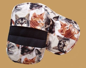 Real Cats Pot Holders - set of 2