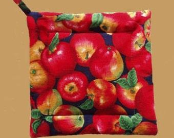 Apples - Square Pot Holder