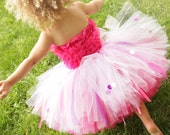 2T/3T - READY to SHIP - Fancy Nancy Tutu and Petti Romper