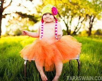 ORANGE You Sweet TUTU Skirt