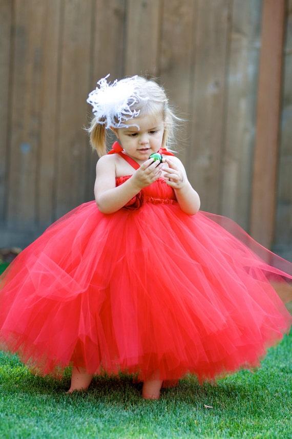 Christmas Red Tutu Dress - NB to 5T