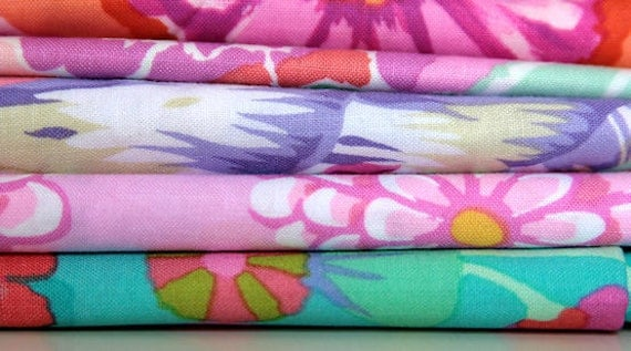 Flower Scrap Pack Fabric Destash
