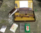 Vintage Gentleman shaving - toilet kit