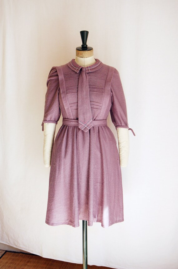 70's lavender dress