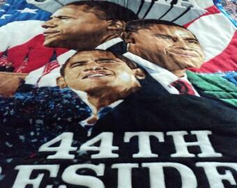 Barack Obama Tribute Quilt