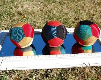 Multi-color Silk Balls
