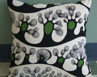 Tree Print Pillow Cover 16x16