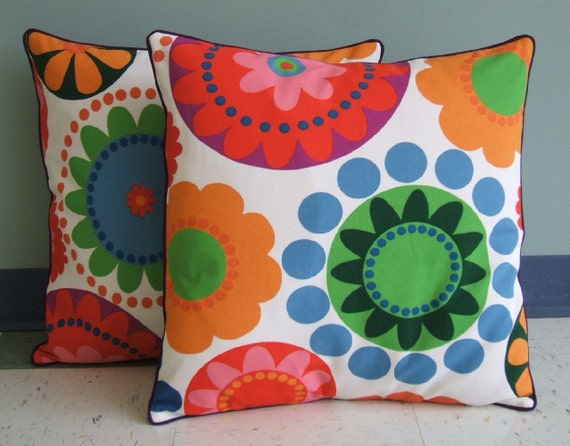 Giant Flower Pillow Cover 20x20