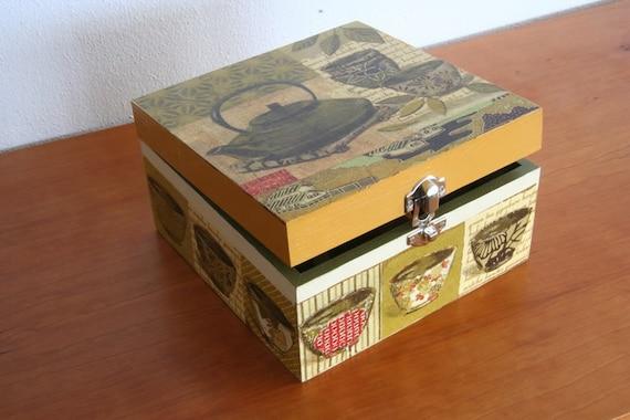 SALE - Tea Box