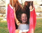Baby Hammock and indoor swing by Zaza - Spain and Crimson -  A wonderful place to sleep or play. Free worldwide shipping