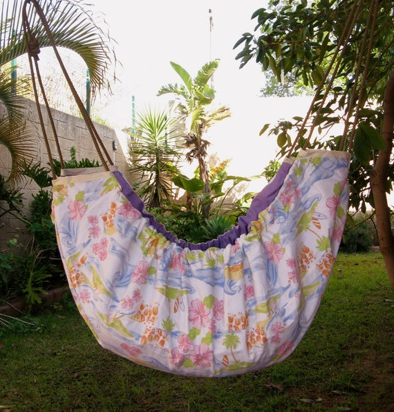 Baby Hammock and swinging seat, cradle, crib, cot for babies and kids - for indoor or outdoor use. Islands in the stream