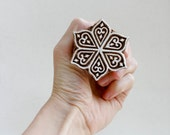 Hand carved wood stamp 267b