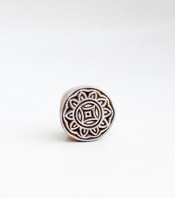 Indian Wood Stamp