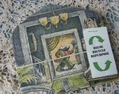 Reuse, Recycle, Repurposed Vintage Children's Illustrations Envelopes - small.