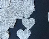 Recycle, Reuse, Repurposed Bible Hearts pack of 100 plus
