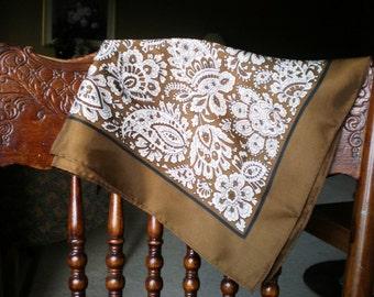 Vintage Scarf - Paisley - Fashion