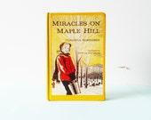 1950s Childrens Book in Bright Yellow