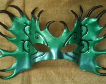 MARDI GRAS MASK FOREST NYMPH