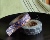 happytape. happygrass set. japanese masking tape 2pak