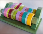 happytape. 8 inch tape dispenser. japanese masking tape.  pick a color.