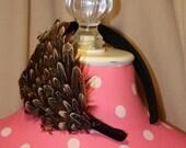 Pheasant Feather Headband
