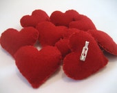 SALE - Love Heart Brooches