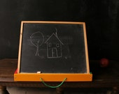 Chalkboard Memo Blackboard Easel Kids and Adults From Nowvintage on Etsy