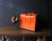 Leather Luggage Doctors Medical Bag or Train Case Vintage From Nowvintage on Etsy