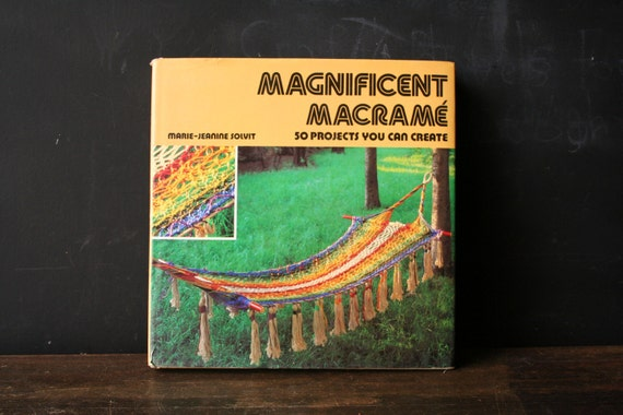 Vintage Macrame Craft Book 70s From Nowvintage on Etsy