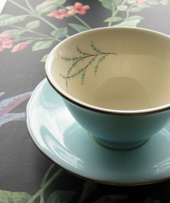 Robin Blue Tea Cup