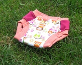 Tinkle Time Trainer Owl Snap Training Pants 2T/3T