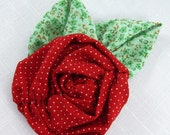 Fabric Flowers Tutorial no. 14 Ruched Roses with headband project  included