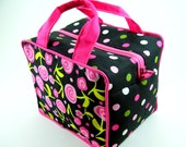Boxy Cosmetic Bag Sewing Pattern PDF Tutorial ... no exposed inner seams