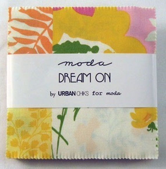 NEW Dream On Charm Pack by Urban Chiks for Moda...42 fabric squares