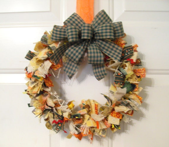 Rag Wreath PDF Tutorial ... 3 different wreaths and decorator bow