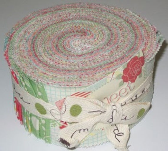 Sweet Jelly Roll by Urban Chiks for Moda 40 fabric strips