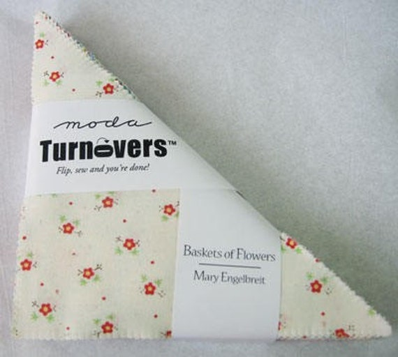 Baskets of Flowers Turnover by Mary Engelbreit for Moda Fabric ... LAST ONE