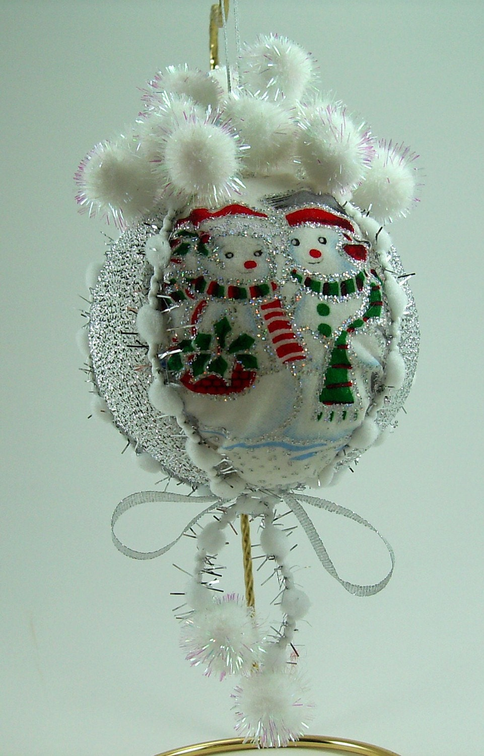 Quilted Christmas Ball Ornament PDF Tutorial ... NEW ... NO