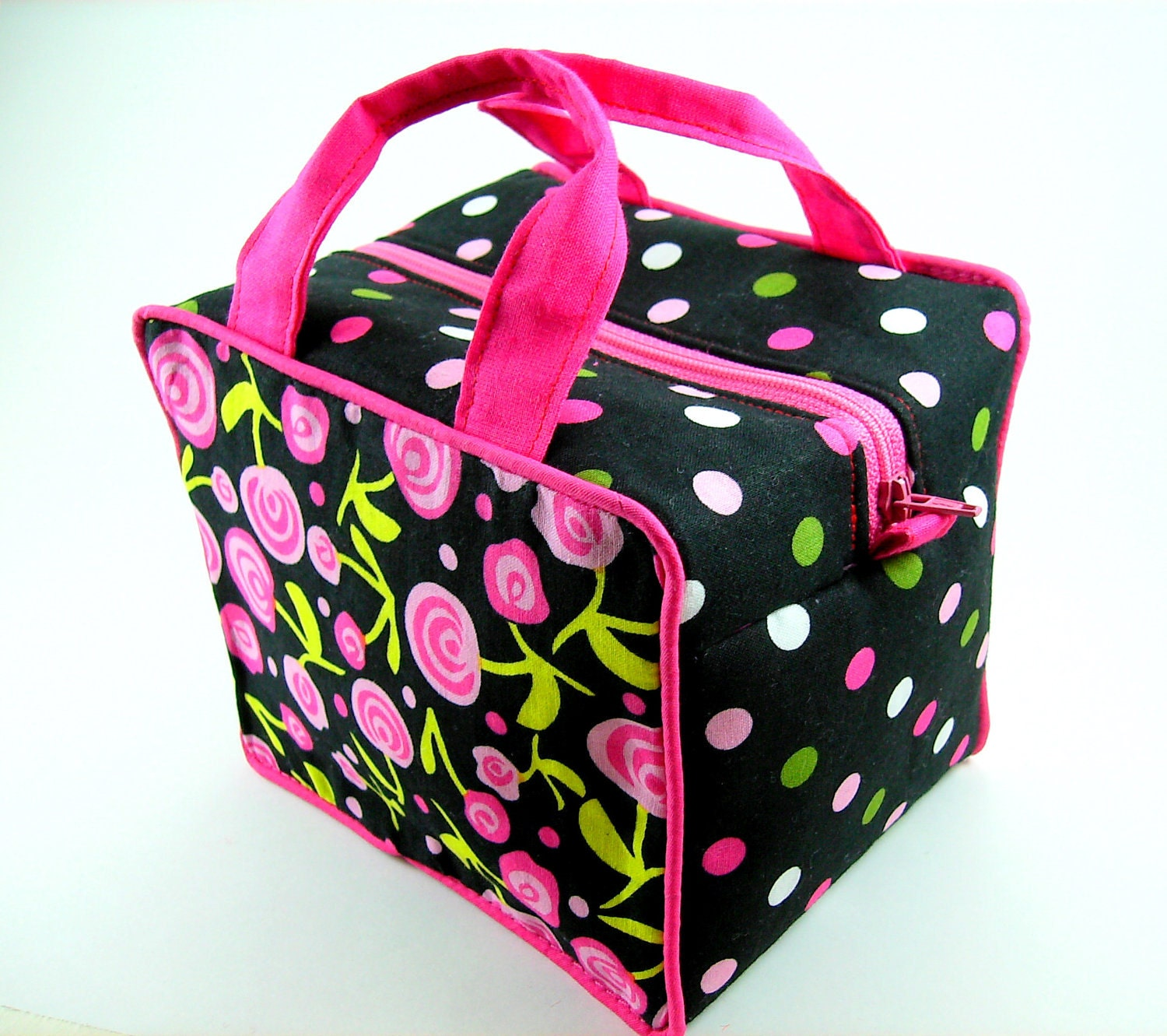 Boxy Cosmetic Bag Sewing Pattern Pdf Tutorial No Exposed