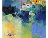 Oia Santorini Greece 5/50 - Limited Edition Print A4