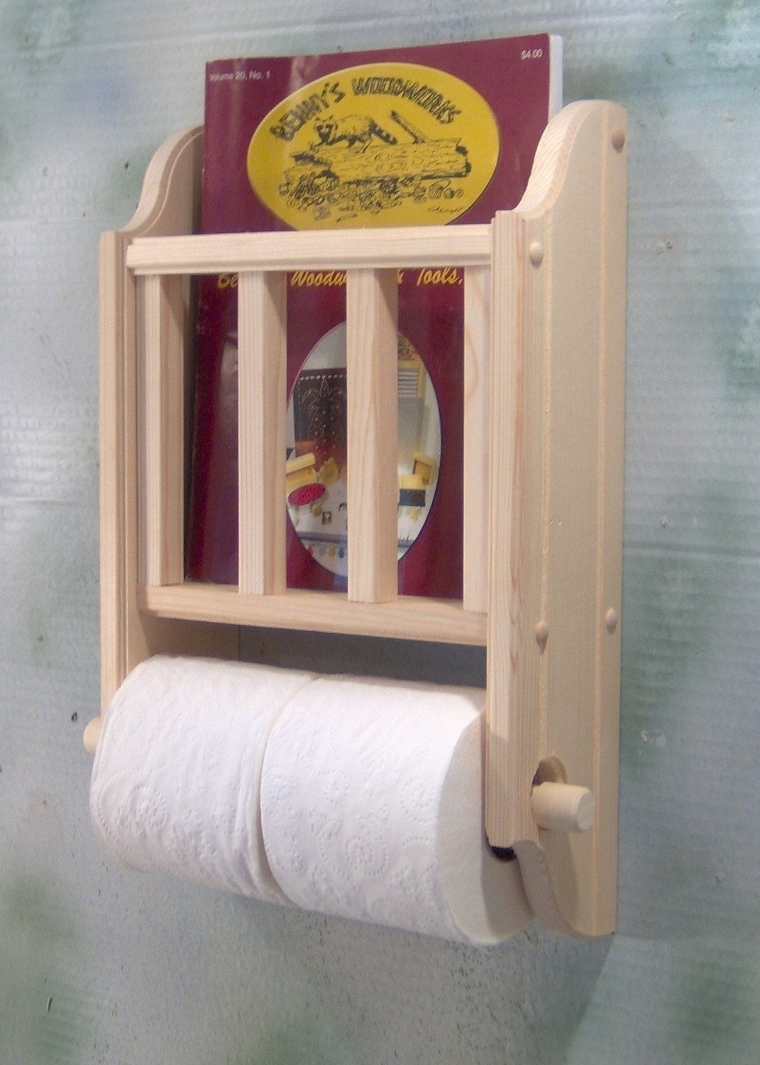 Toilet Paper Magazine Rack