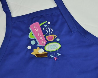 Personalized Adult Cooking Apron / Monogrammed Apron / Personalized Apron / Apron for Women / Apron for Men / Cooking Apron / Christmas Gift