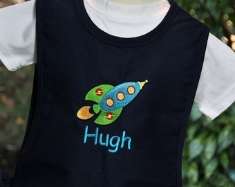 Personalized Art Smock for Kids / Kids Art Smock  / Kids Cobbler Apron / Childrens Art Smock / Art Smock for School / Gifts for Kids