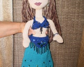 MidNight Mini -- Belly Dancer Doll