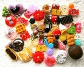WHOLESALE Kawaii Cabochons MIX 50 Pack 19 DecoSweets