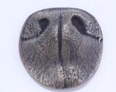 THE Original Custom Bronze Pet Nose Keepsake or Memorium