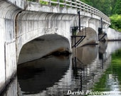 Bridge Photography  8x10  Bridge Over Pleasant Water  Currently In Stock