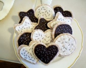 Felt Food Cookies One Dozen