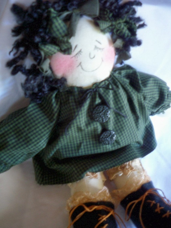 Rag Doll Thats Sleepy Made To Order