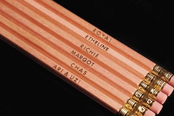 Royal Tenenbaums Pencils (Set of 6)